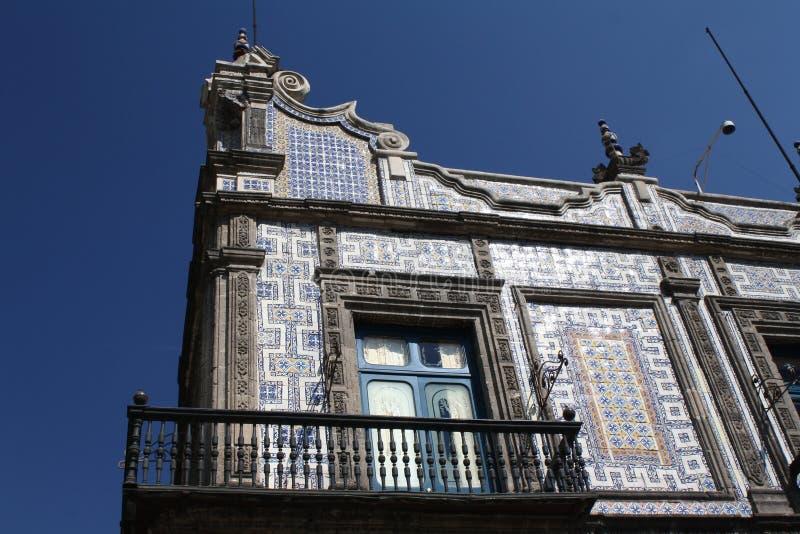 azulejoscasastad de los mexico royaltyfri bild