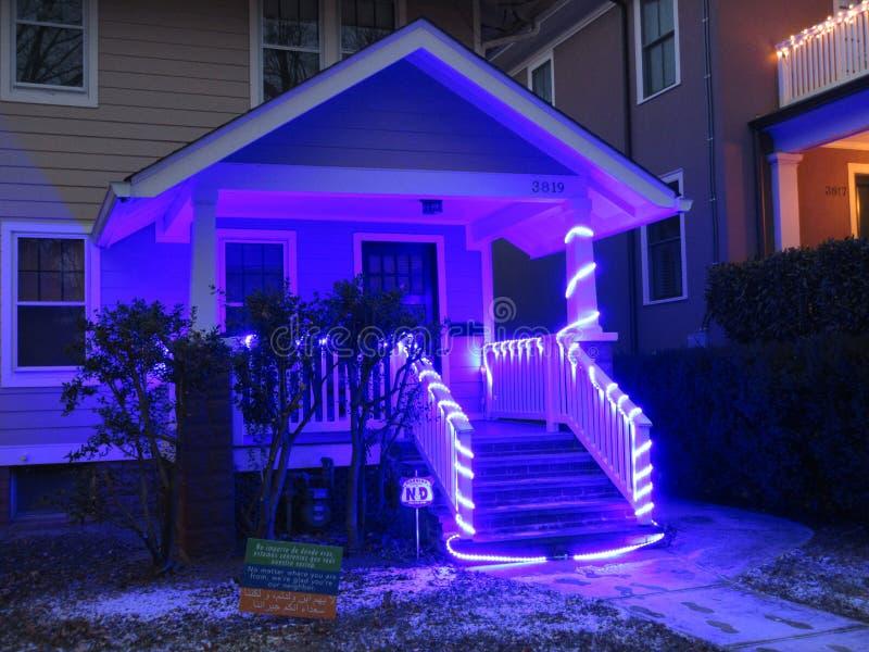 Azules de la Navidad en Noche Vieja fotos de archivo libres de regalías