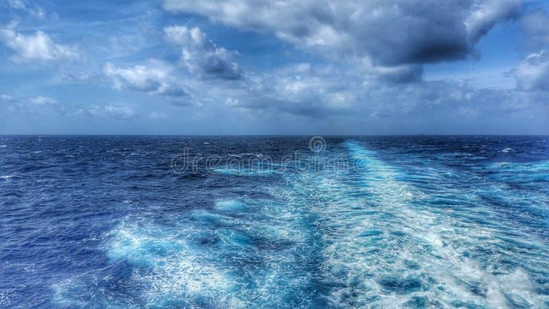 Azules sin fin foto de archivo