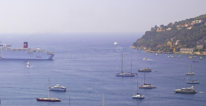 azur λιμενικός mer ο νότος δ υπόσ στοκ εικόνες με δικαίωμα ελεύθερης χρήσης