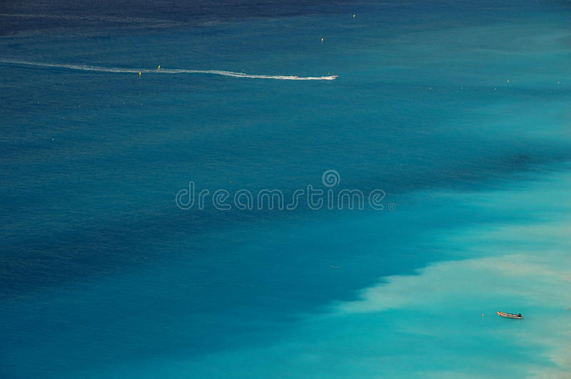 Azur Coast image stock