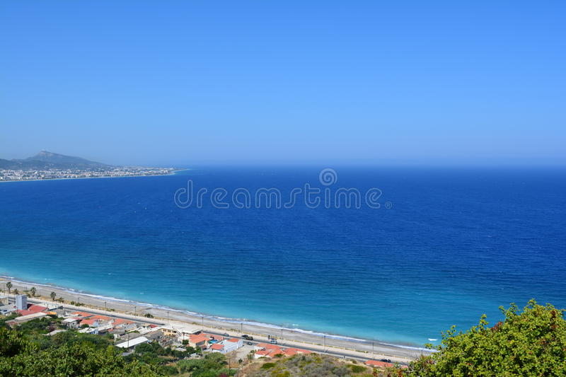 ` Azur da costa D imagem de stock