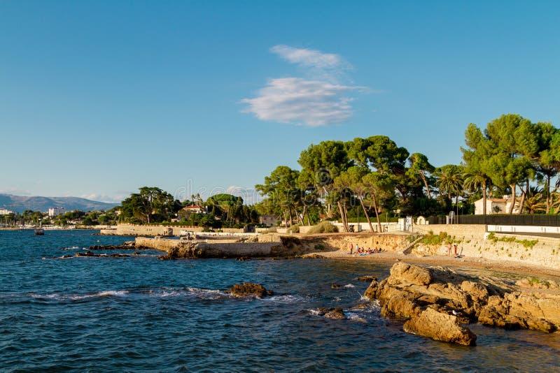 ` Azur da costa D imagens de stock royalty free