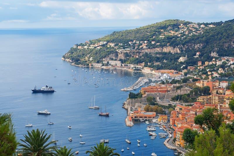 Azur de Cote d, Francia fotos de archivo libres de regalías