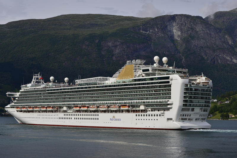 Download Azura Cruise Ship In Norway Editorial Photography - Image: 43634687