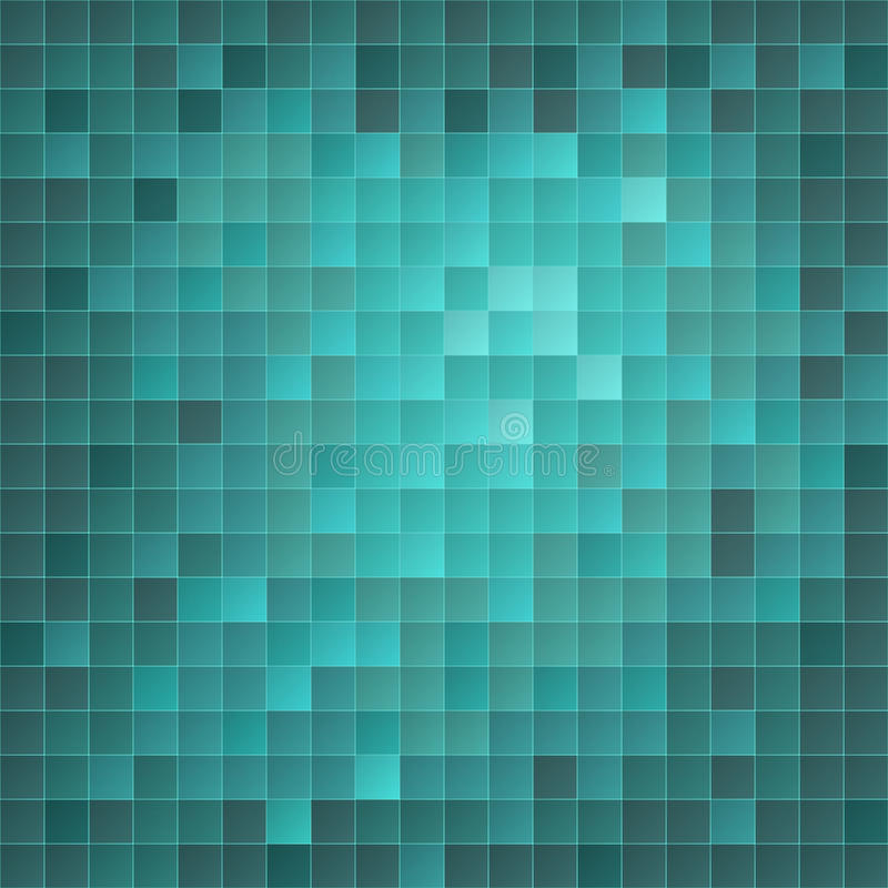Azure EPS10 Mosaic Background Stock Photo