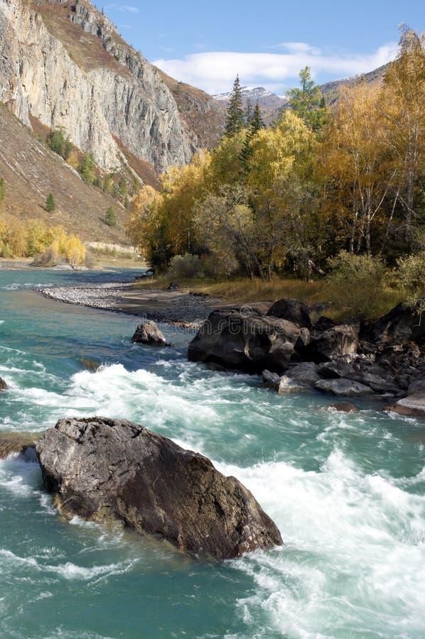 azure flod arkivbilder