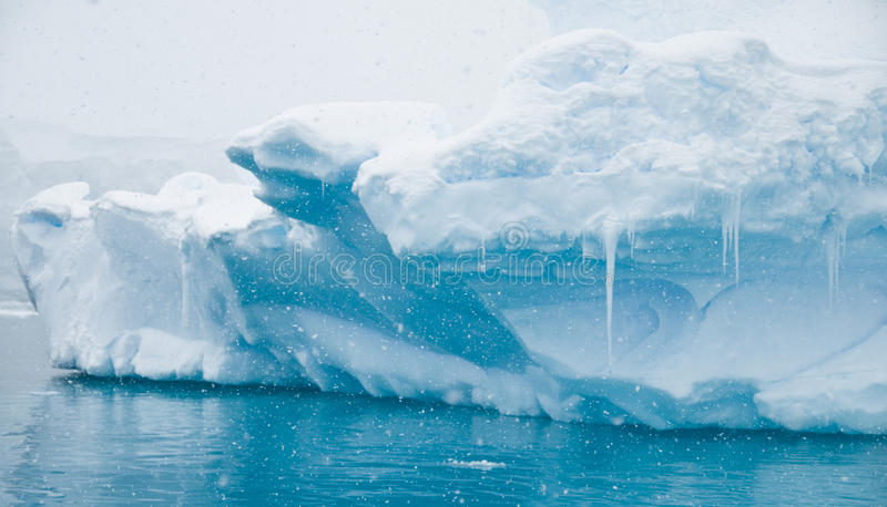 Azure Icebergs and Icicles