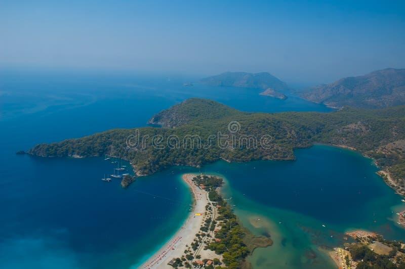 Download Azure lagoon stock photo. Image of island, aerial, coast - 3598464