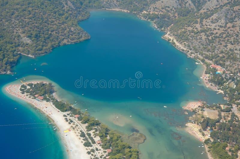 azure lagun fotografering för bildbyråer
