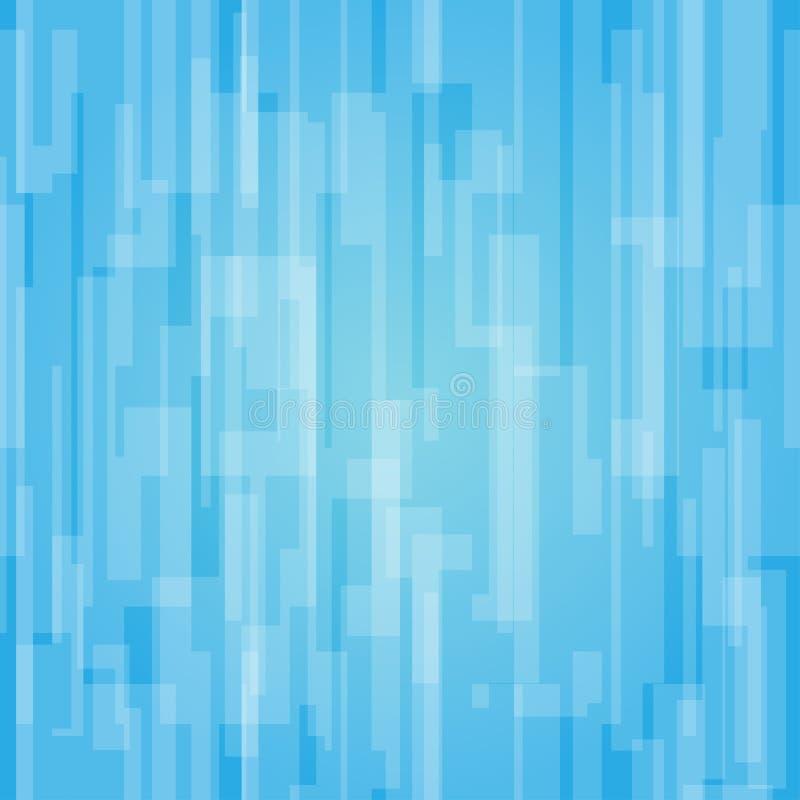 Azure Seamless Backround stock abbildung
