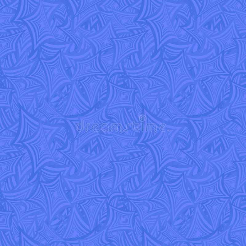 Azure seamless curved rectangle pattern background. Azure color seamless curved rectangle pattern background stock illustration