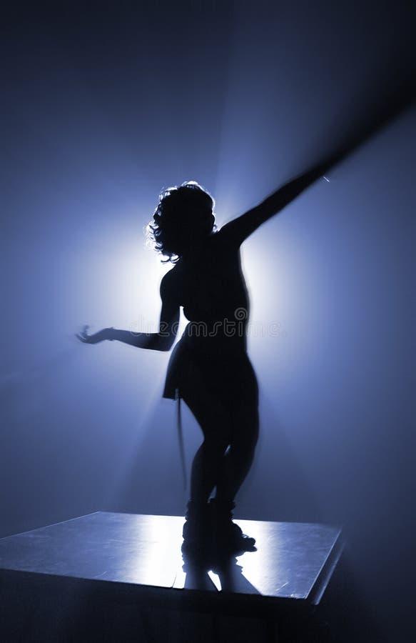 azure silhouette fotografering för bildbyråer