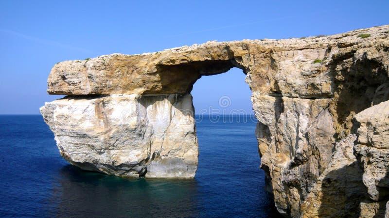 Azure Window - Gozo lizenzfreie stockfotos