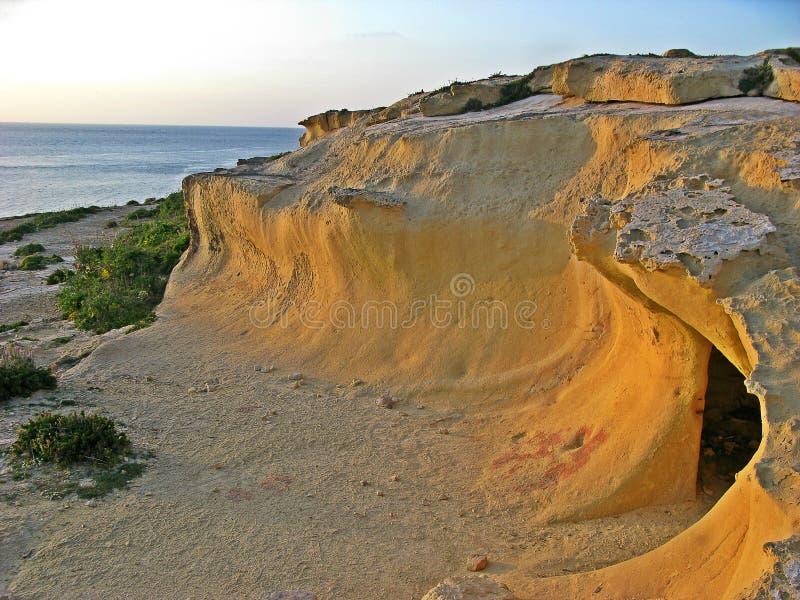 Azure Window, Gozo lizenzfreies stockbild