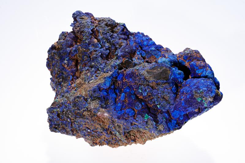 azurite malachite mineral royalty free stock photography