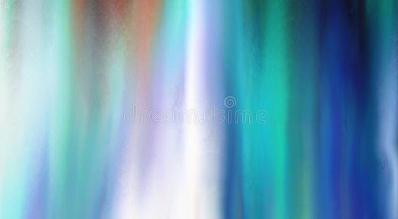 Azuurblauwe blures vector illustratie