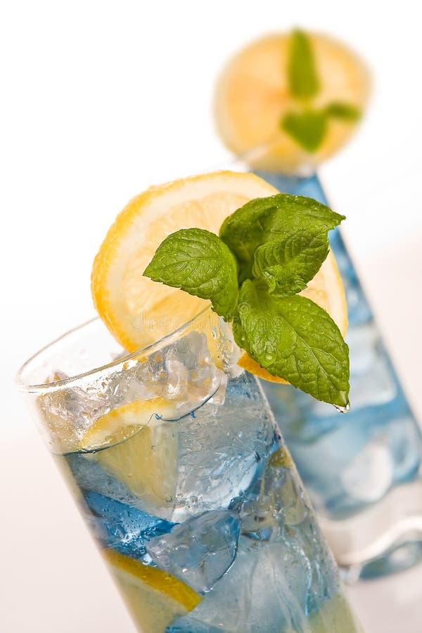 Azzurri del cocktail fotografie stock