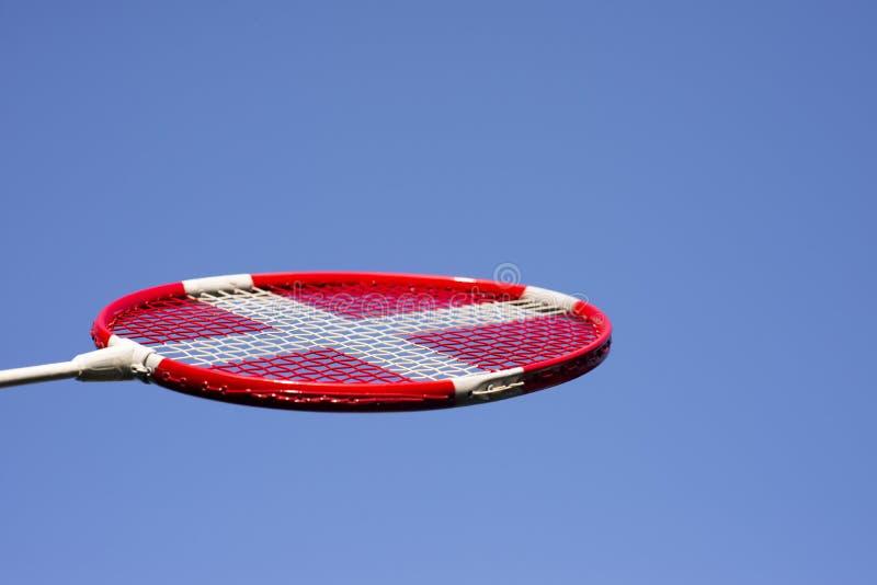 Azzurri della racchetta di volano immagini stock