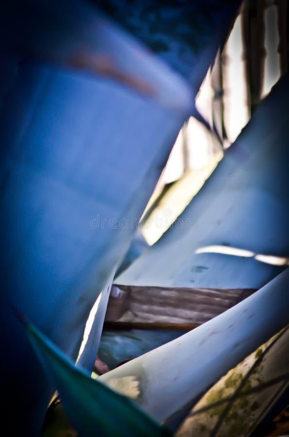 Azzurri lunatici fotografia stock libera da diritti