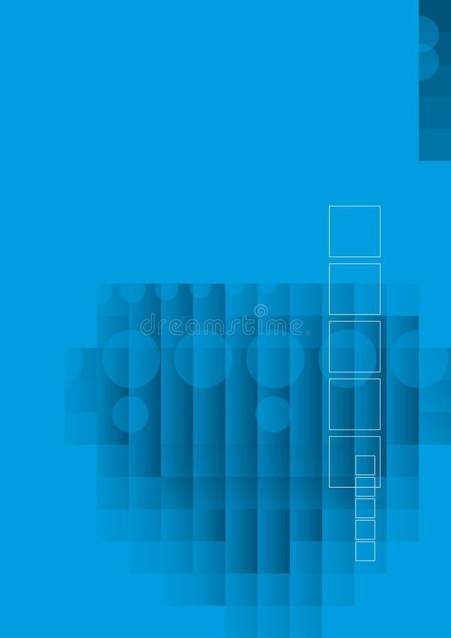 Azzurro alta tecnologia astratto royalty illustrazione gratis