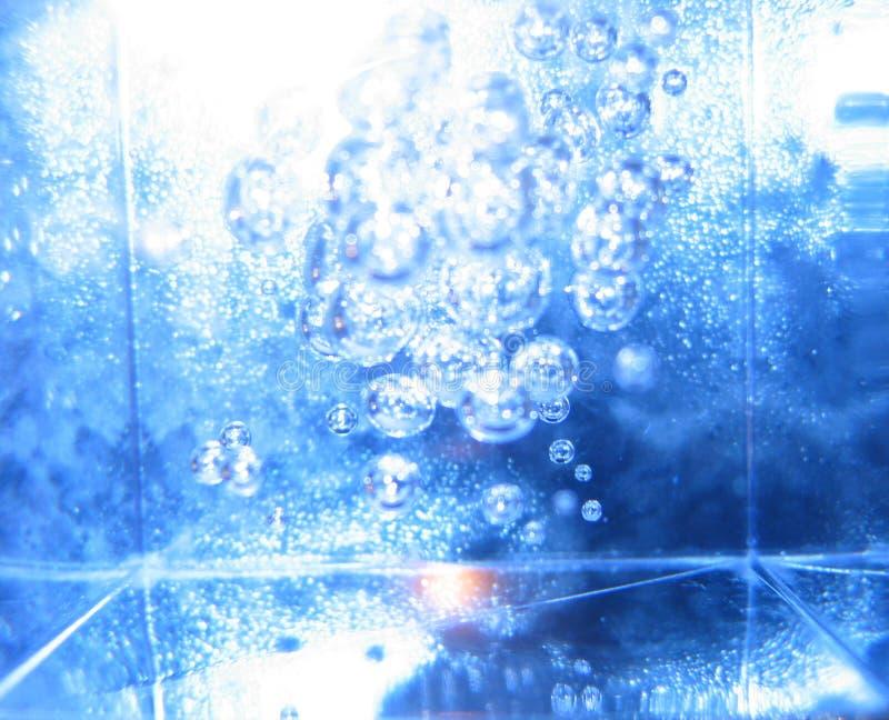 Azzurro astratto fotografia stock