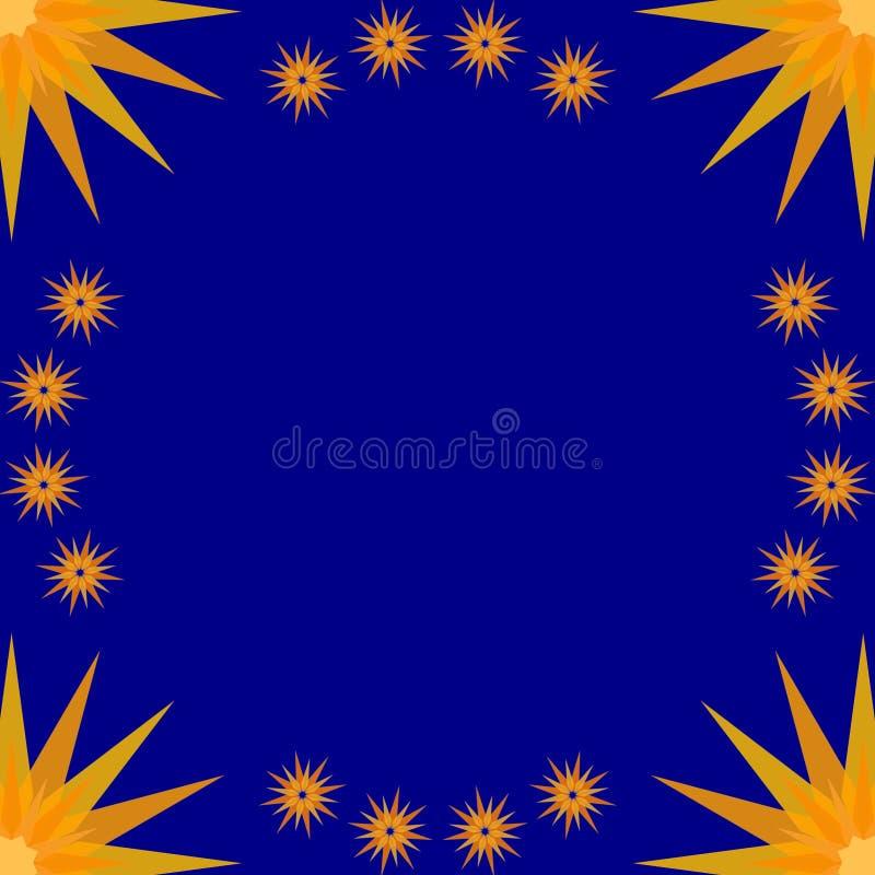 Azzurro del blocco per grafici di Stary royalty illustrazione gratis