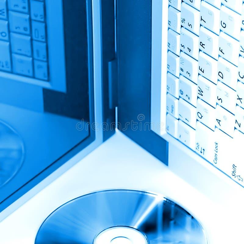 Azzurro di Digitahi immagine stock libera da diritti