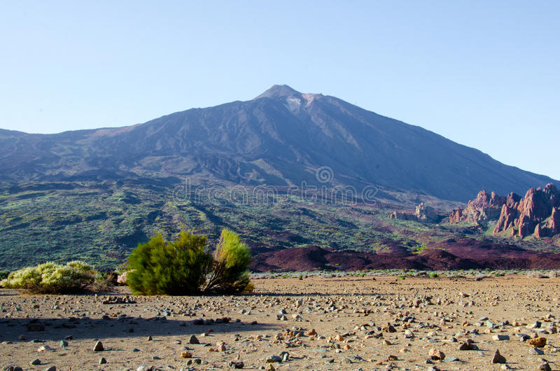 Azzurro di Teide fotografie stock libere da diritti
