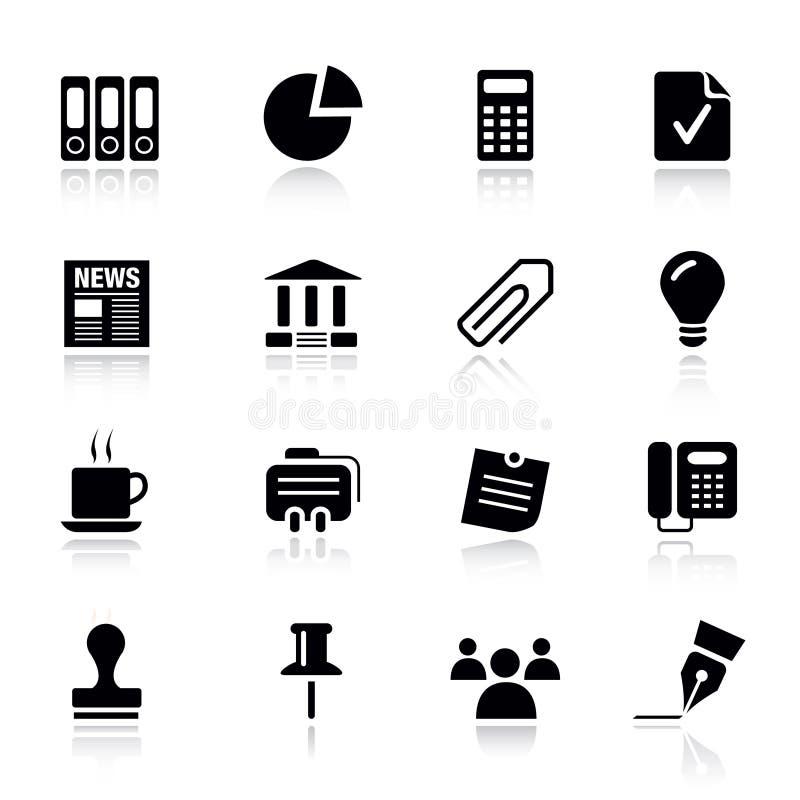 Básico - ícones do escritório e do negócio