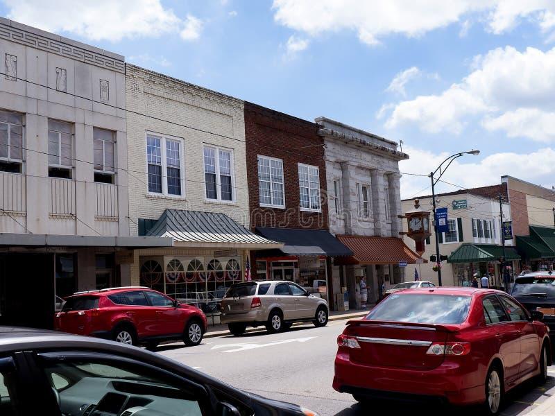 Bâti Airey ou Mayberry en Caroline du Nord Etats-Unis photos stock
