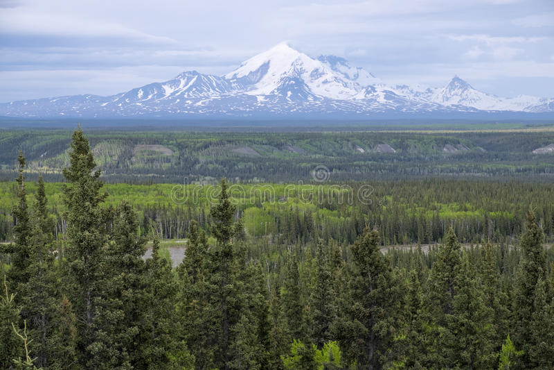 Bâti Blackburn Alaska photo stock