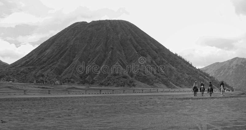 Bâti Bromo Indonésie photographie stock
