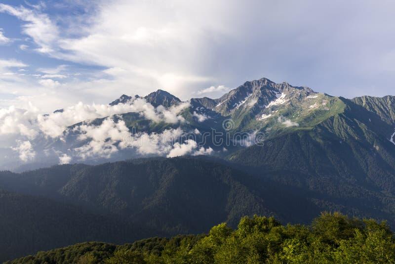 Bâti Chugush Caucase occidental photos libres de droits