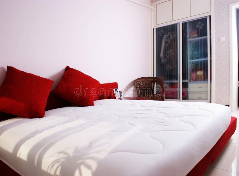 Bâti de chambre à coucher photo libre de droits