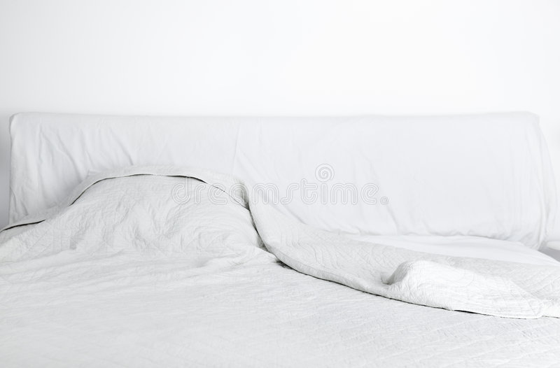 Bâti de Doube dans la chambre à coucher photographie stock libre de droits