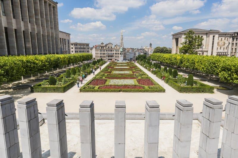 Bâti des arts à Bruxelles, Belgique photos stock