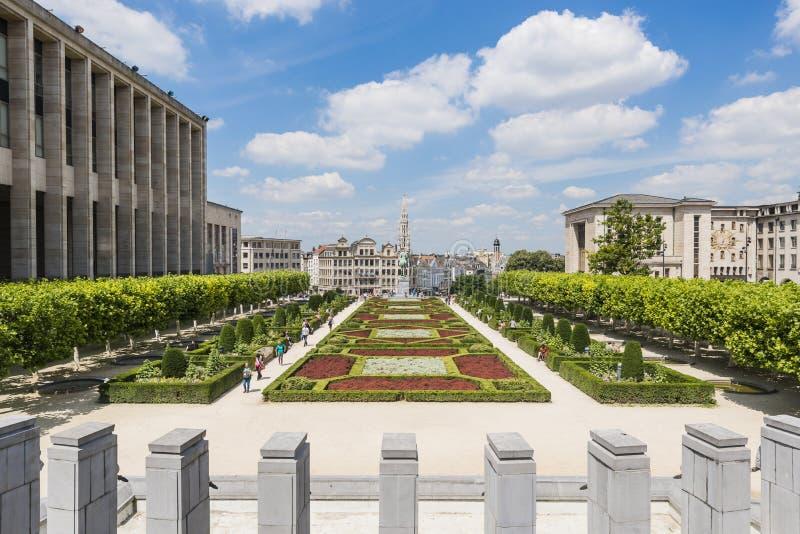 Bâti des arts à Bruxelles, Belgique images libres de droits