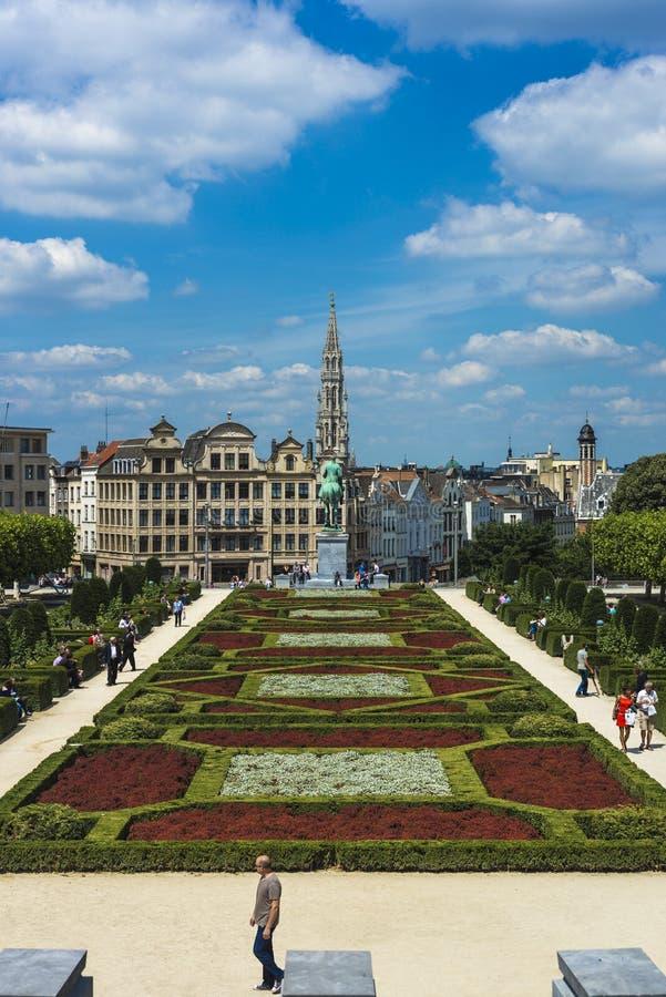 Bâti des arts à Bruxelles, Belgique images stock