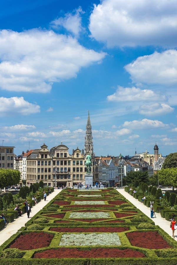 Bâti des arts à Bruxelles, Belgique photo stock