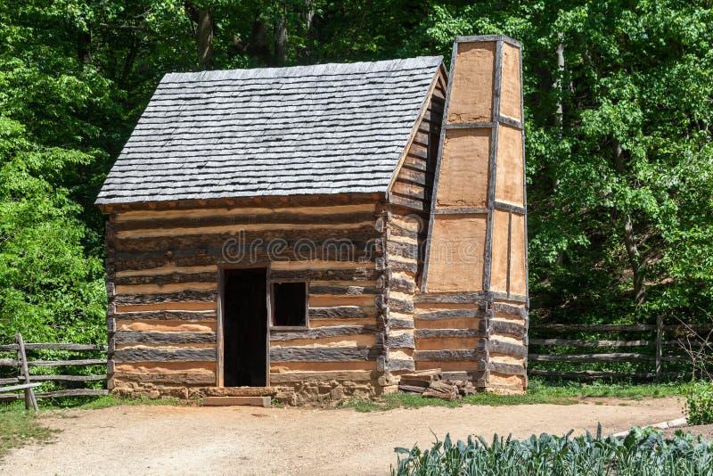 Bâti en bois Vernon Washington de carlingue photos stock