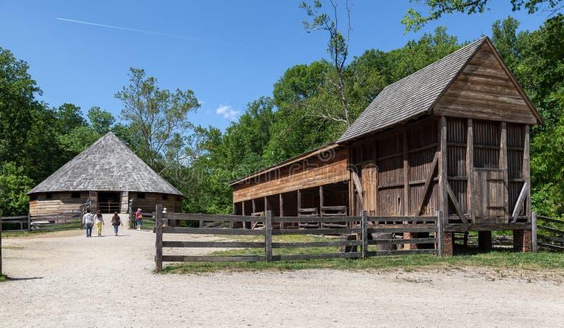 Bâti en bois Vernon Washington de carlingue images libres de droits