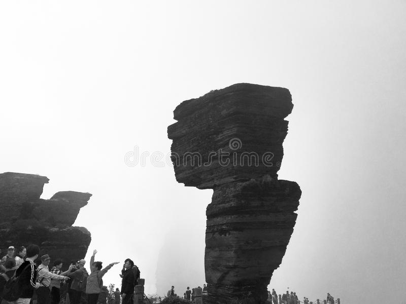 Bâti Fanjing photos stock
