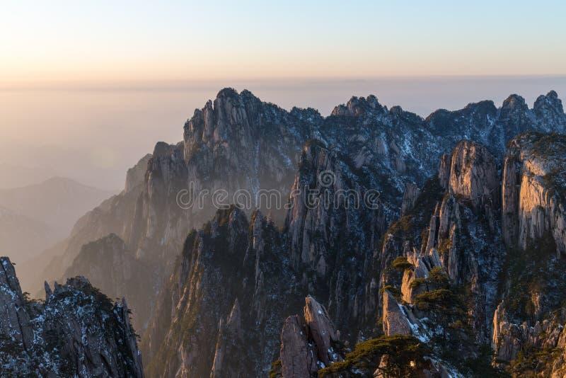 Bâti Huangshan image libre de droits