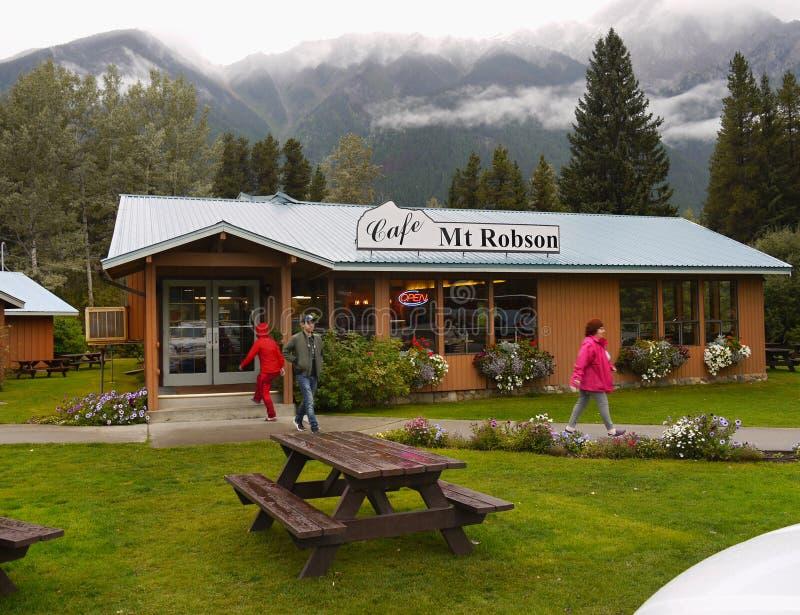 Bâti Robson Park, Canada photographie stock libre de droits