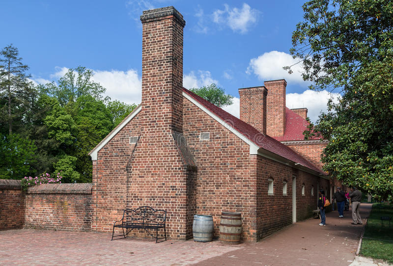 Bâti Vernon Brick House Washington image stock
