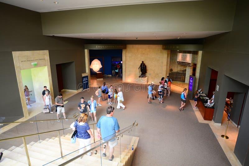Bâti Vernon Education Center du ` s de Washington images libres de droits