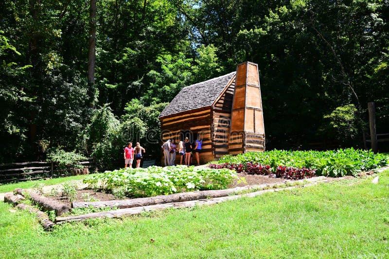 Bâti Vernon Farming House du ` s de Washington image libre de droits