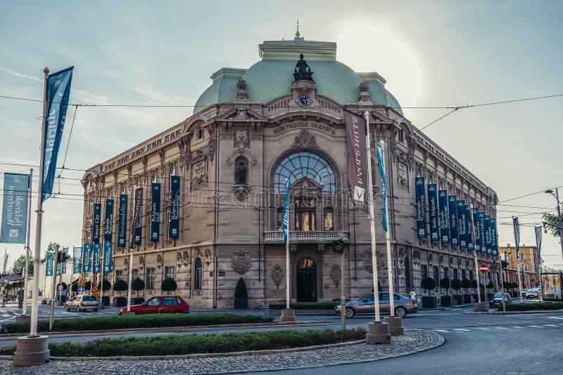 Bâtiment à Belgrade images libres de droits