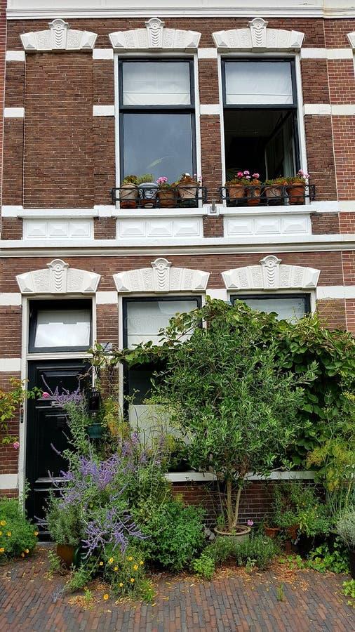 Bâtiment à Haarlem Pays-Bas photos libres de droits